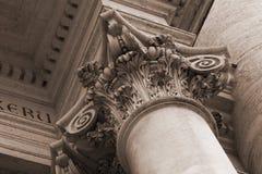 Detalles de San Giovanni en la catedral de Laterano en R Fotos de archivo libres de regalías