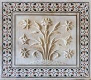 Detalles de Taj Mahal. Agra, la India imagen de archivo libre de regalías