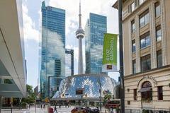 Detalles de Toronto Imagen de archivo