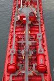 Detalles de un petrolero Imágenes de archivo libres de regalías