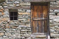 Detalles de un pueblo de montaña Fotografía de archivo libre de regalías