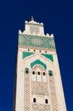 Detalles del alminar de la mezquita Imagenes de archivo