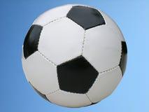 Detalles del balón de fútbol Fotografía de archivo