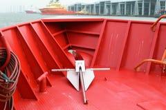 Detalles del barco Foto de archivo libre de regalías