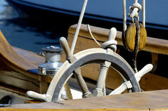 Detalles del barco de vela Imagen de archivo