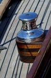 Detalles del barco de vela Foto de archivo