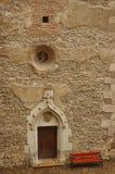 Detalles del castillo de Corvin Fotos de archivo