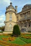 Detalles del castillo francés de Chantilly Fotografía de archivo libre de regalías