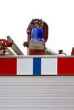 Detalles del coche de bomberos Imagen de archivo libre de regalías