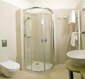 Detalles del cuarto de baño   Foto de archivo