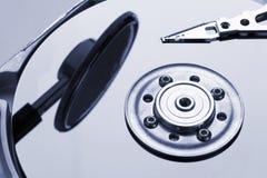 Detalles del disco duro Foto de archivo libre de regalías
