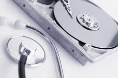 Detalles del disco duro Imágenes de archivo libres de regalías