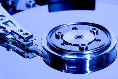 Detalles del disco duro de los ordenadores fotos de archivo