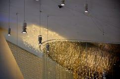 Detalles del diseño de los interiores de un edificio imágenes de archivo libres de regalías