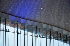 Detalles del diseño de los interiores de un edificio imagen de archivo libre de regalías