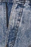 Detalles del dril de algodón Imagen de archivo