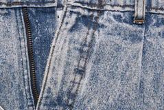 Detalles del dril de algodón Fotografía de archivo
