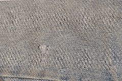 Detalles del dril de algodón Fotografía de archivo libre de regalías