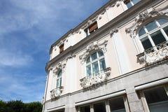 Detalles del edificio Foto de archivo