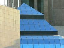 Detalles del edificio moderno Fotografía de archivo