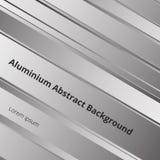 Detalles del fondo superficial de aluminio del metal abstracto del modelo stock de ilustración