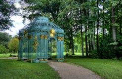 Detalles del gazebo en el parque Sanssouci en Potsdam Imagen de archivo libre de regalías