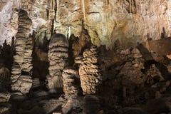 Detalles del Grotta Gigante en Trieste imagen de archivo libre de regalías