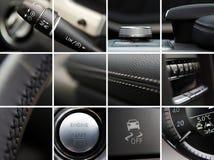 Detalles del interior del coche imagen de archivo libre de regalías