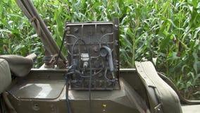 Detalles del jeep militar ww2 almacen de video