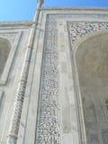 Detalles del mausoleo del Taj Mahal Fotos de archivo