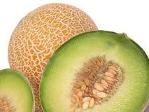 Detalles del melón Fotografía de archivo