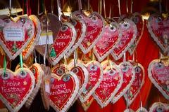 Detalles del mercado de la Navidad Fotografía de archivo
