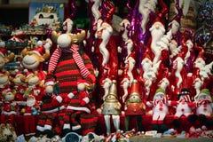 Detalles del mercado de la Navidad Imagen de archivo