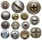 Detalles del metal imagenes de archivo
