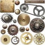 Detalles del metal Fotografía de archivo