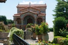 Detalles del monasterio santo de St Stephen fotografía de archivo libre de regalías