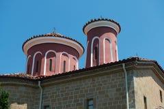 Detalles del monasterio santo de St Stephen foto de archivo