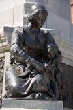 Detalles del monumento de Paul de Chomedey, sieur de Maisonneuve Foto de archivo libre de regalías