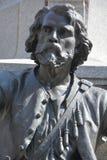 Detalles del monumento de Paul de Chomedey, sieur de Maisonneuve Fotos de archivo libres de regalías