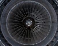 Detalles del motor de jet Fotos de archivo