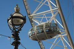 Detalles del ojo de Londres Fotos de archivo
