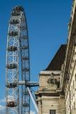 Detalles del ojo de Londres Imagen de archivo libre de regalías
