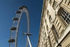 Detalles del ojo de Londres Imagenes de archivo