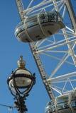 Detalles del ojo de Londres Fotografía de archivo