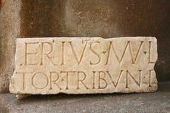 Detalles del ottavia del pórtico - Roma Fotografía de archivo