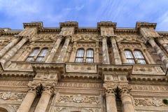 Detalles del palacio de Dolmabahce Fotos de archivo libres de regalías