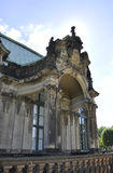 Detalles del palacio de Zwinger de Dresden en Alemania Fotografía de archivo libre de regalías