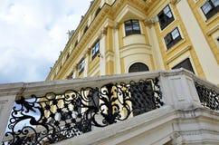 Detalles del palacio imperial en Viena fotografía de archivo libre de regalías