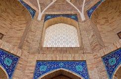 Detalles del portal de Madrasah Fotos de archivo