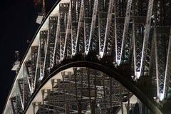 Detalles del puente Imagen de archivo libre de regalías